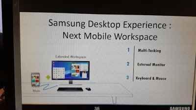 galaxy S8 potrebbe avere una funzione simile a continuum Durante la giornata di ieri 2 gennaio 2017, è trapelata online una slide di Samsung dove viene mostrata una funzione simile a continuum, al momento non è chiaro se questa nuova funzionalità vedrà mai #samsun #smartphone #android