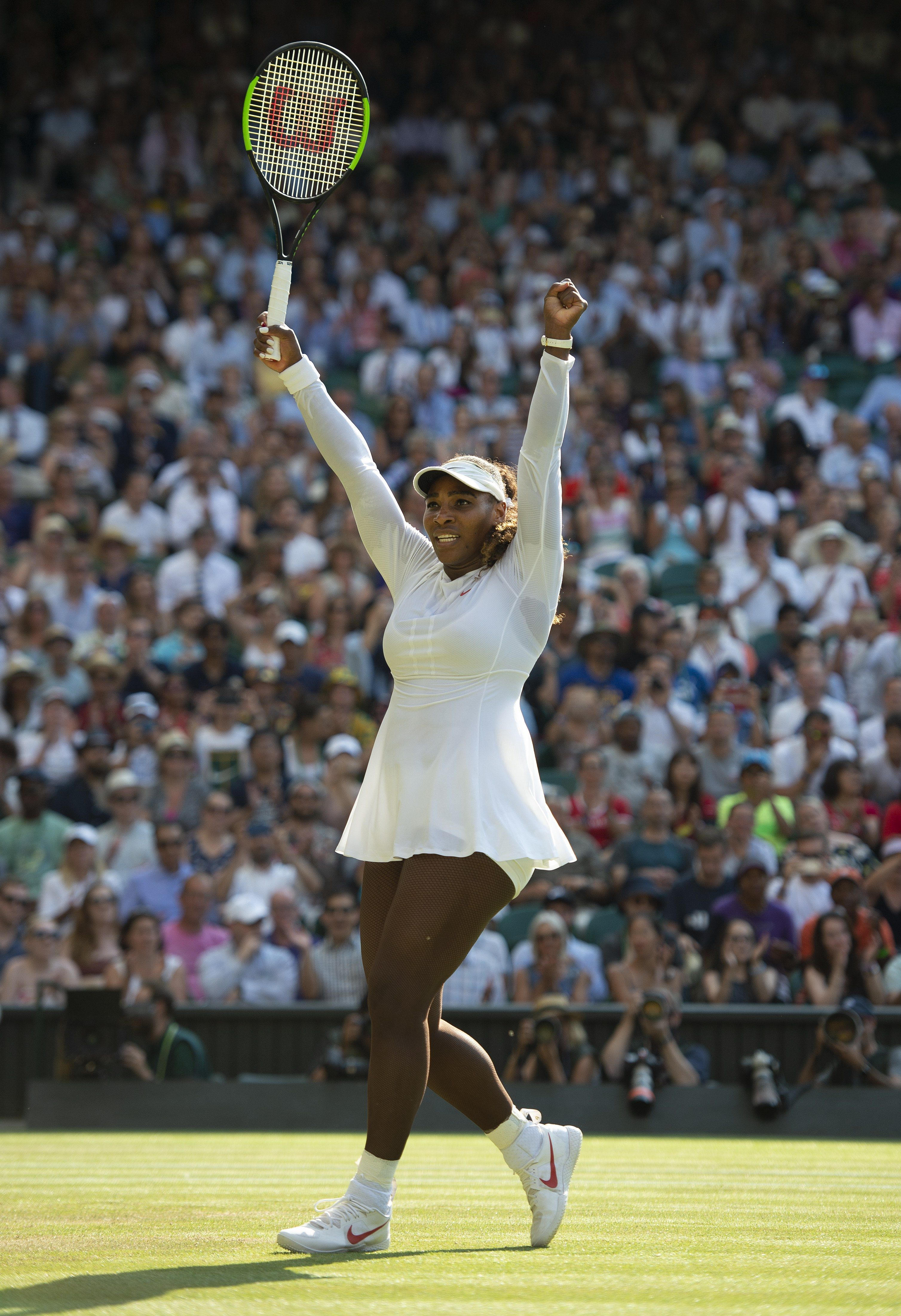 152c81e42a8 At a Wimbledon Press Conference, Serena Williams Gives a Master Class in  Unapologetic Excellence   Pinterest   Serena williams, Wimbledon and Tennis  legends