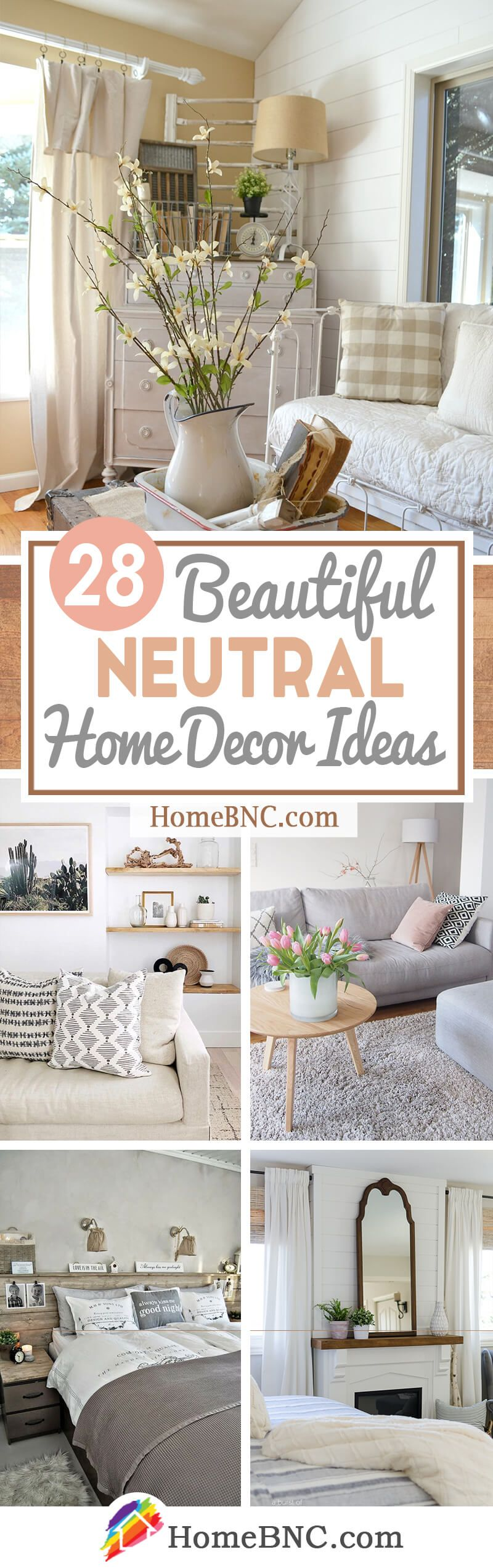 28 Best Neutral Home Decor Ideas And Designs For 2018