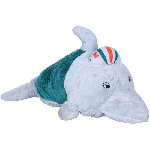 NFL Miami Dolphins Pillow Pet Fabrique Innovations,http