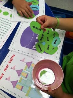 princess and the pea center activity