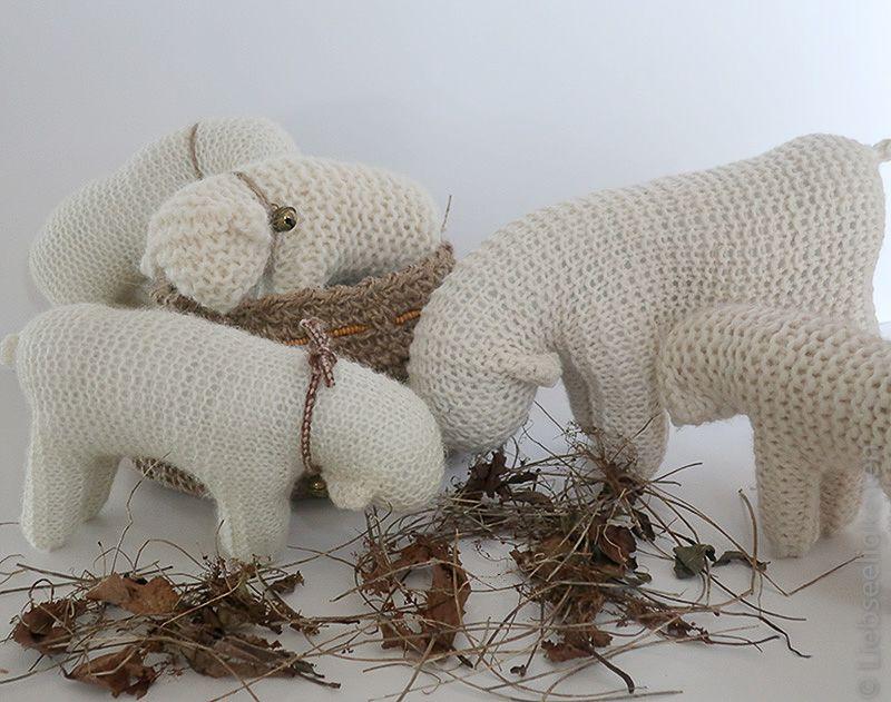 Photo of Ein Waldorf Schaf ist schnell gestrickt und geht auch Ungeübten problemlos von …