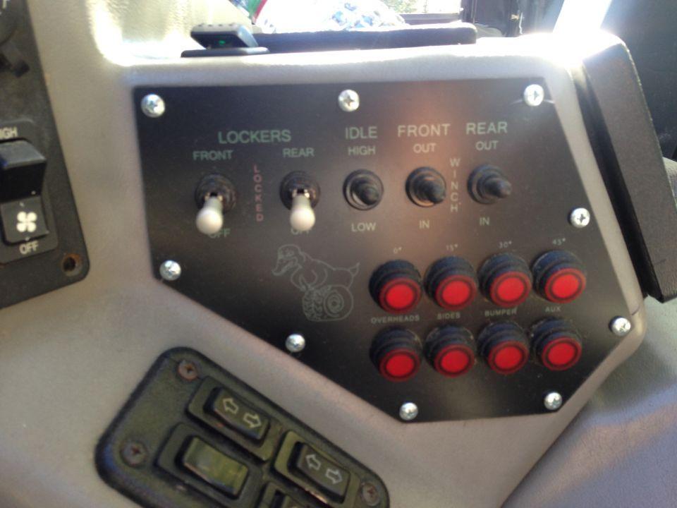 Custom Rubber Duck Switch Panel Hummer H1 Truck Mods