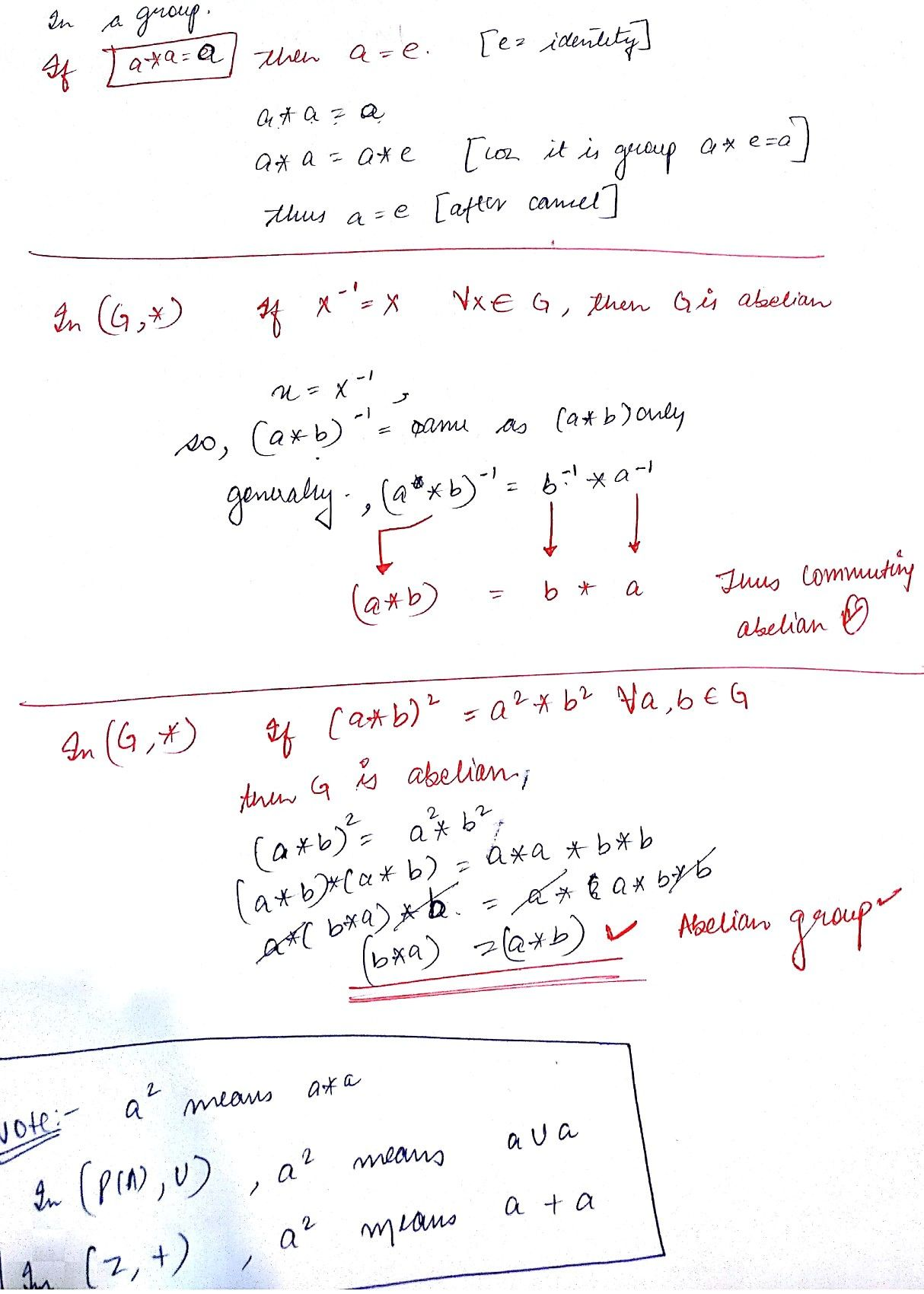 Math Formulas Examples