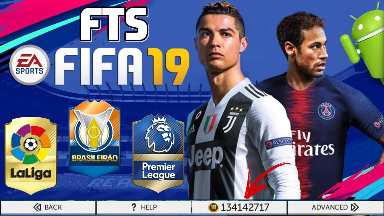 Fts Mod Fifa 19 Offline Android Mobile Game Download Android Mobile Games Mobile Game Game Download Free