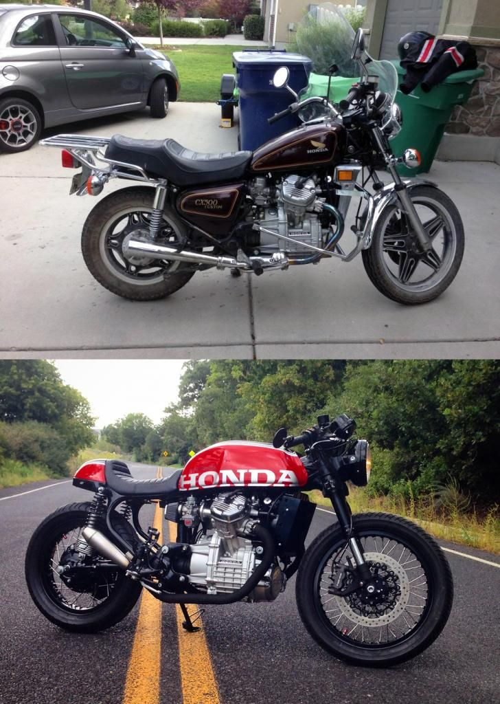 1980 cx 500 caf racer build bikes motos motos. Black Bedroom Furniture Sets. Home Design Ideas