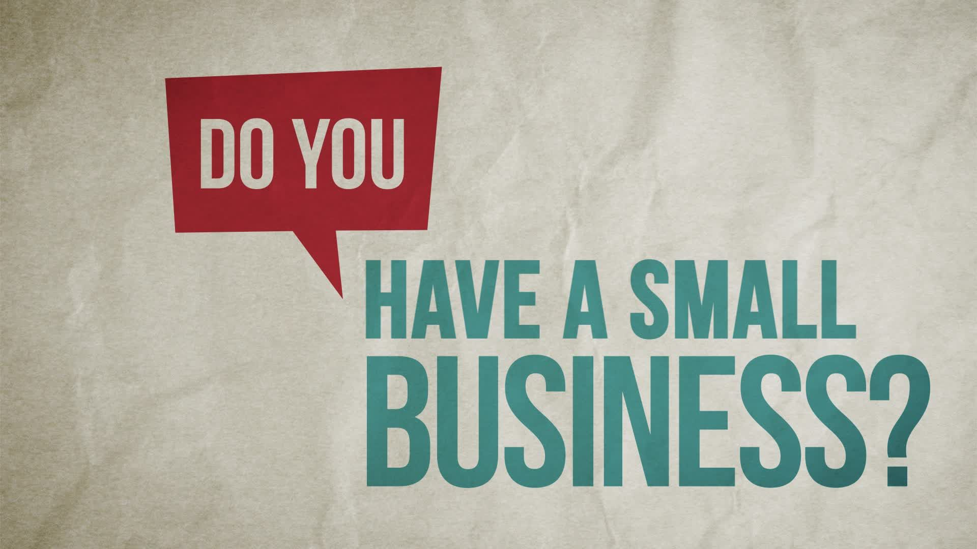 Do you have a small business and it is facing financial