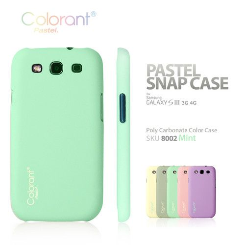 reputable site 8fec5 ceefb Colorant] Pastel Snap Cover Case for Samsung Galaxy S III S3 i9300 ...