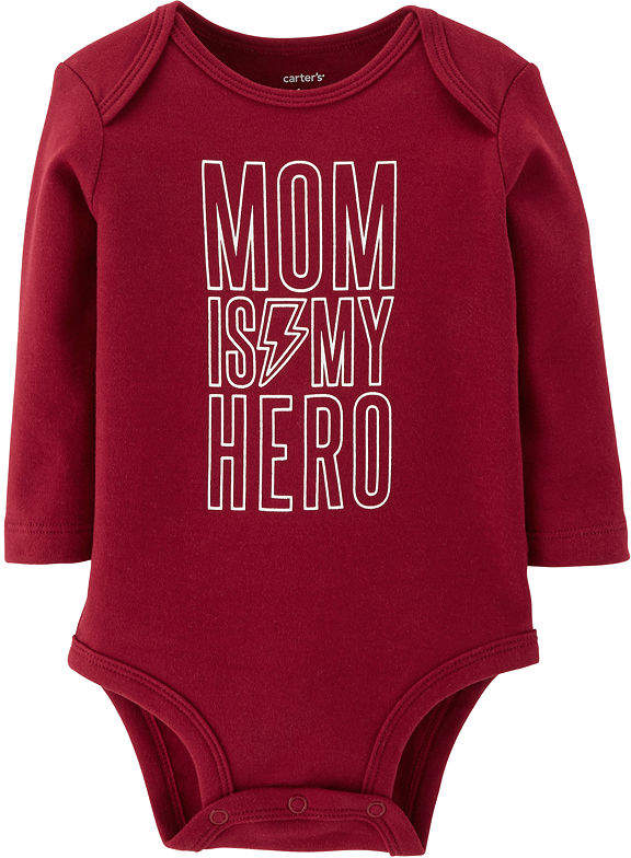 78008f31f Carter's Slogan Long Sleeve Bodysuits - Baby Boy Nb-24m | Carters ...