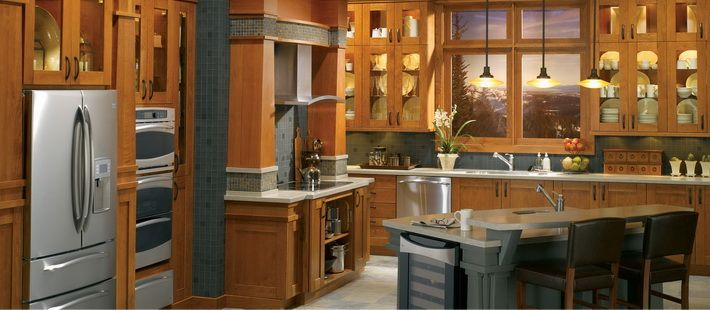 25 Kitchen Remodeling Ideas Like the tile over the cooktop and at