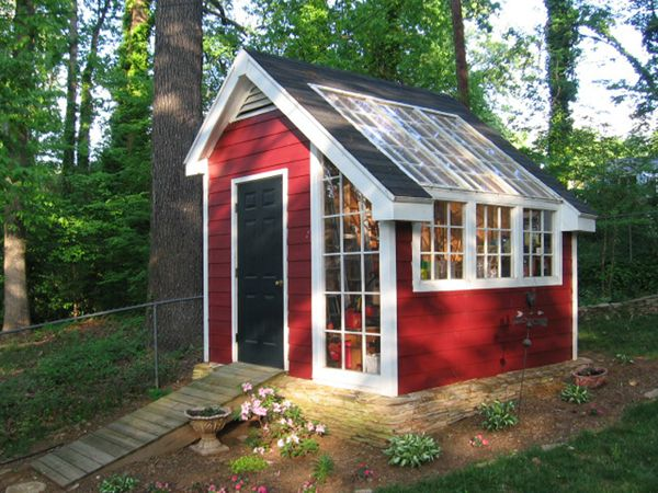 Garden Shed And Green House Greenhouse Shed Magical Garden Diy Shed Plans