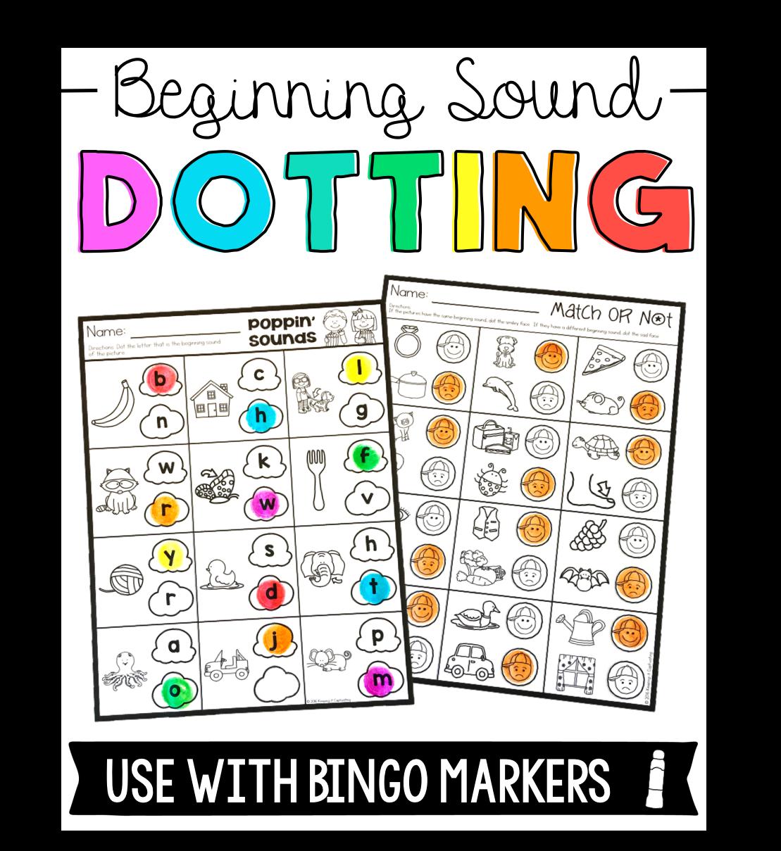 Beginning Sound Dotting