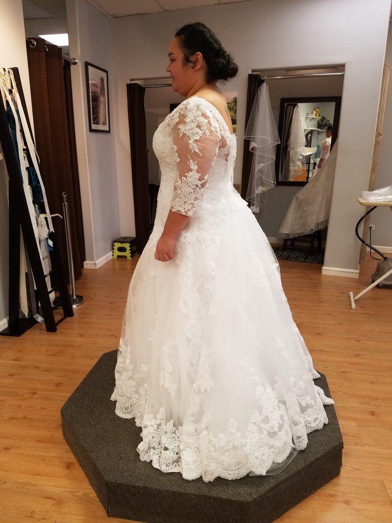 Casablanca \'Plumeria 2269\' in 2019 | Shop Nearly Newlywed | Wedding ...