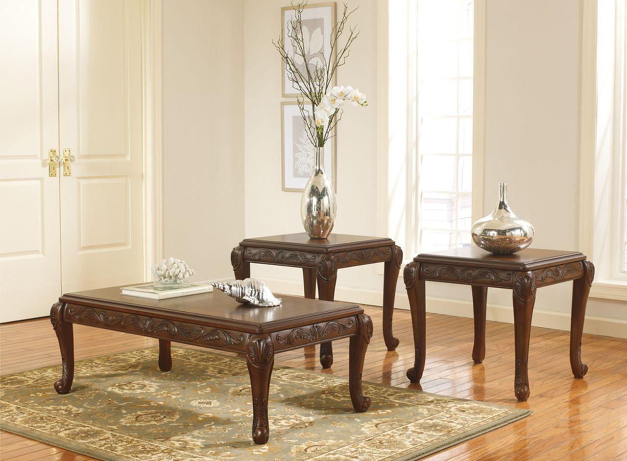 San Martin Occasional Table Set   Berrios Te Da Más