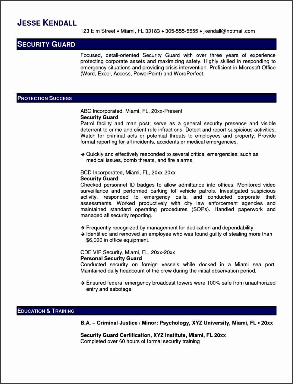 Security Daily Activity Report Template In 2020 Security Resume