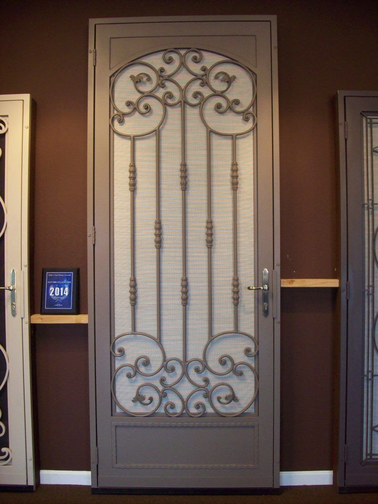 Security Screen Doors With Images