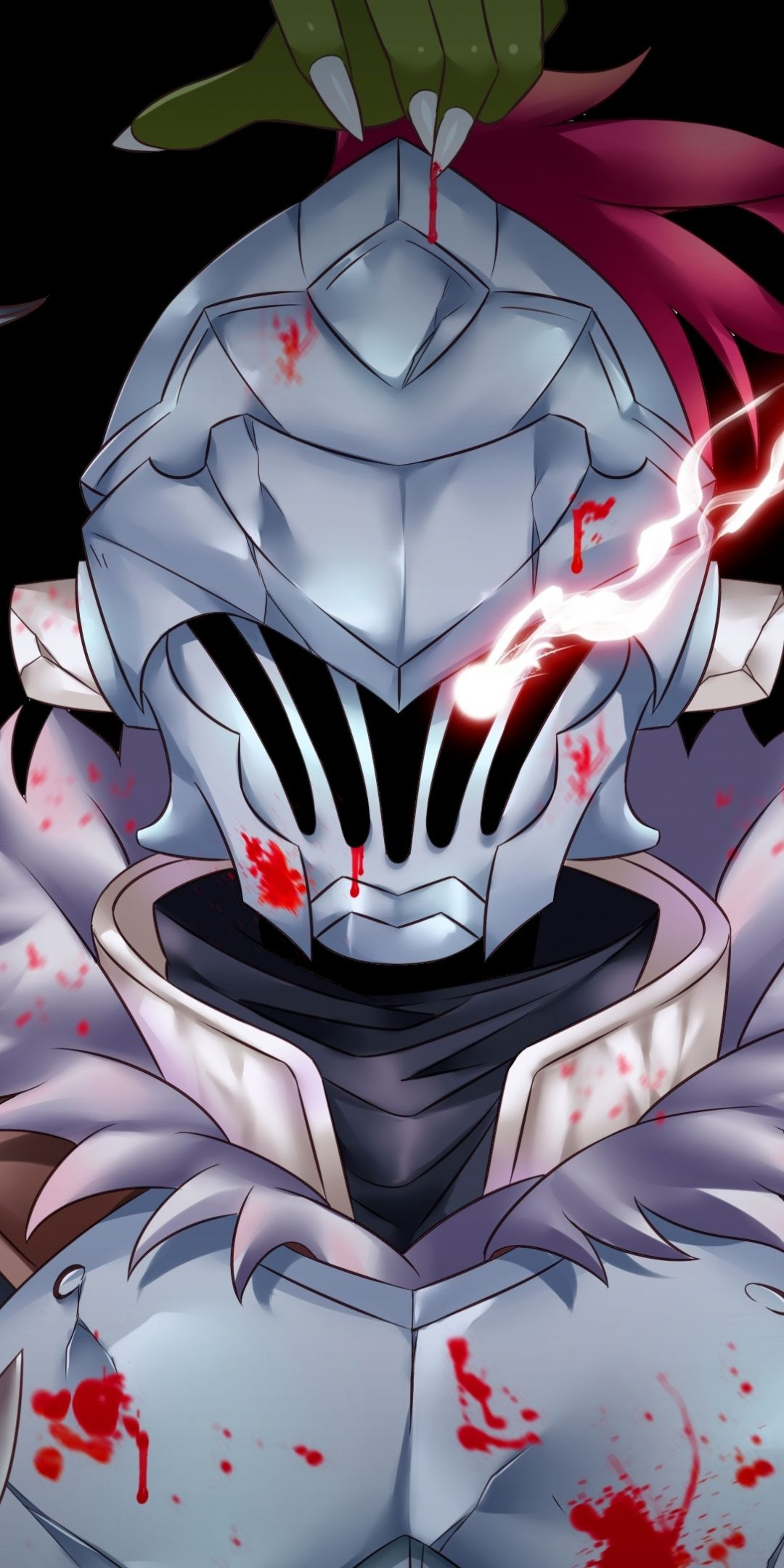 Anime, Goblin Slayer, armour suit, art, 1080x2160