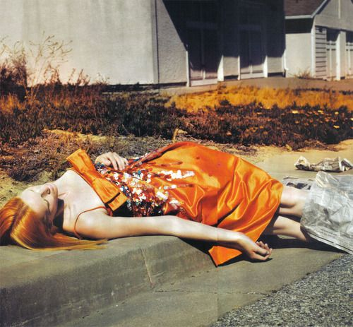 Iris Strubegger by Mert and Marcus for Vogue Italia (how major is that Dior)