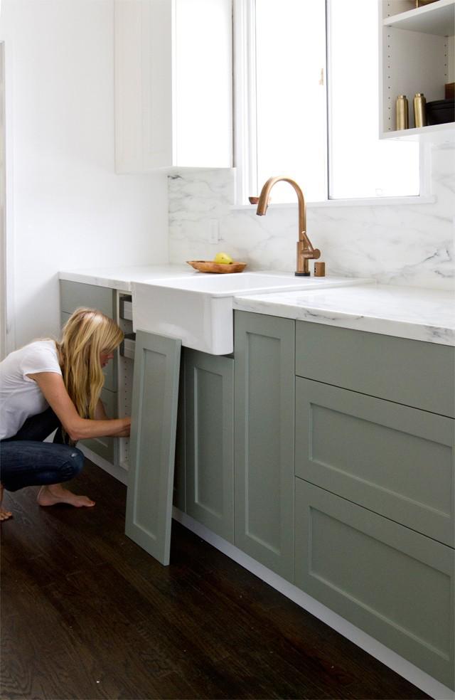 Ikea Upgrade: The SemiHandmade Kitchen Remodel