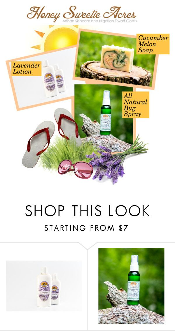 """""""Get Ready for Summer with Honeysweet Acres"""" by sierraday ❤ liked on Polyvore featuring beauty"""