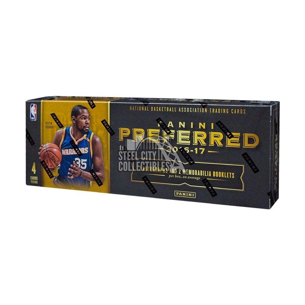 201617 panini preferred basketball hobby box hobby
