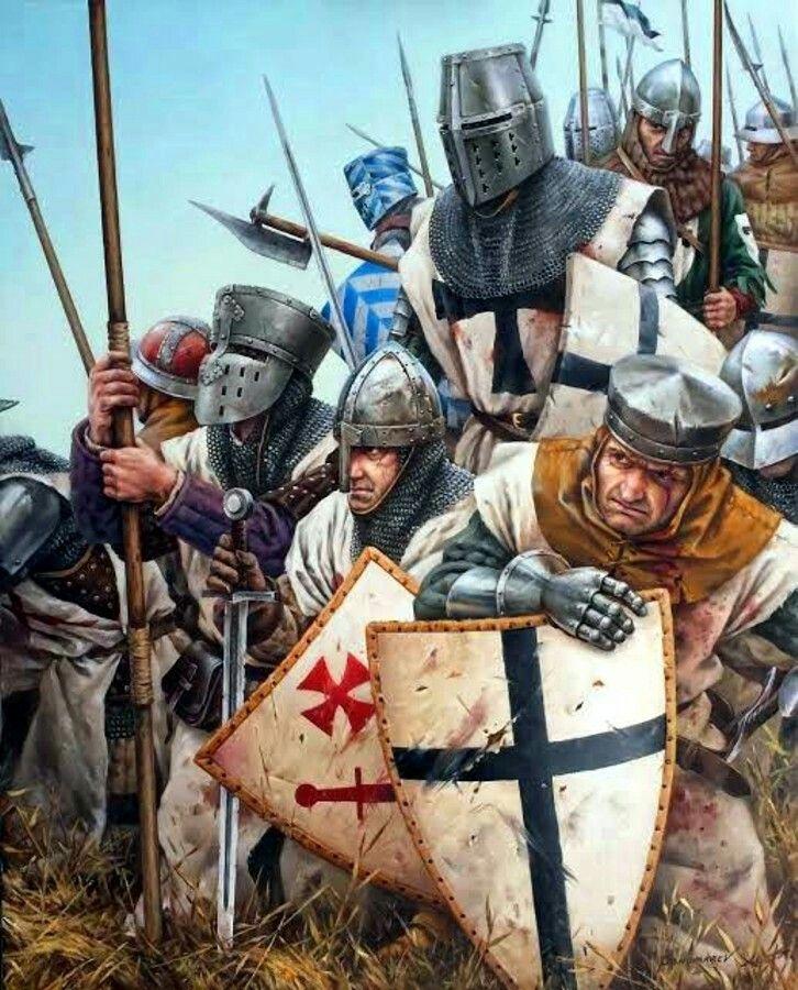 доселе картинки тамплиеры крестовый поход меж
