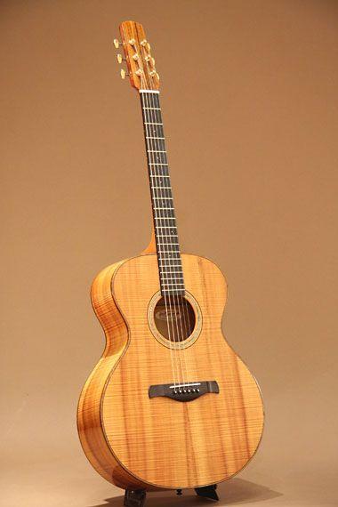 jeff traugott model r 1990 all koa beautiful acoustic guitars classical guitar. Black Bedroom Furniture Sets. Home Design Ideas