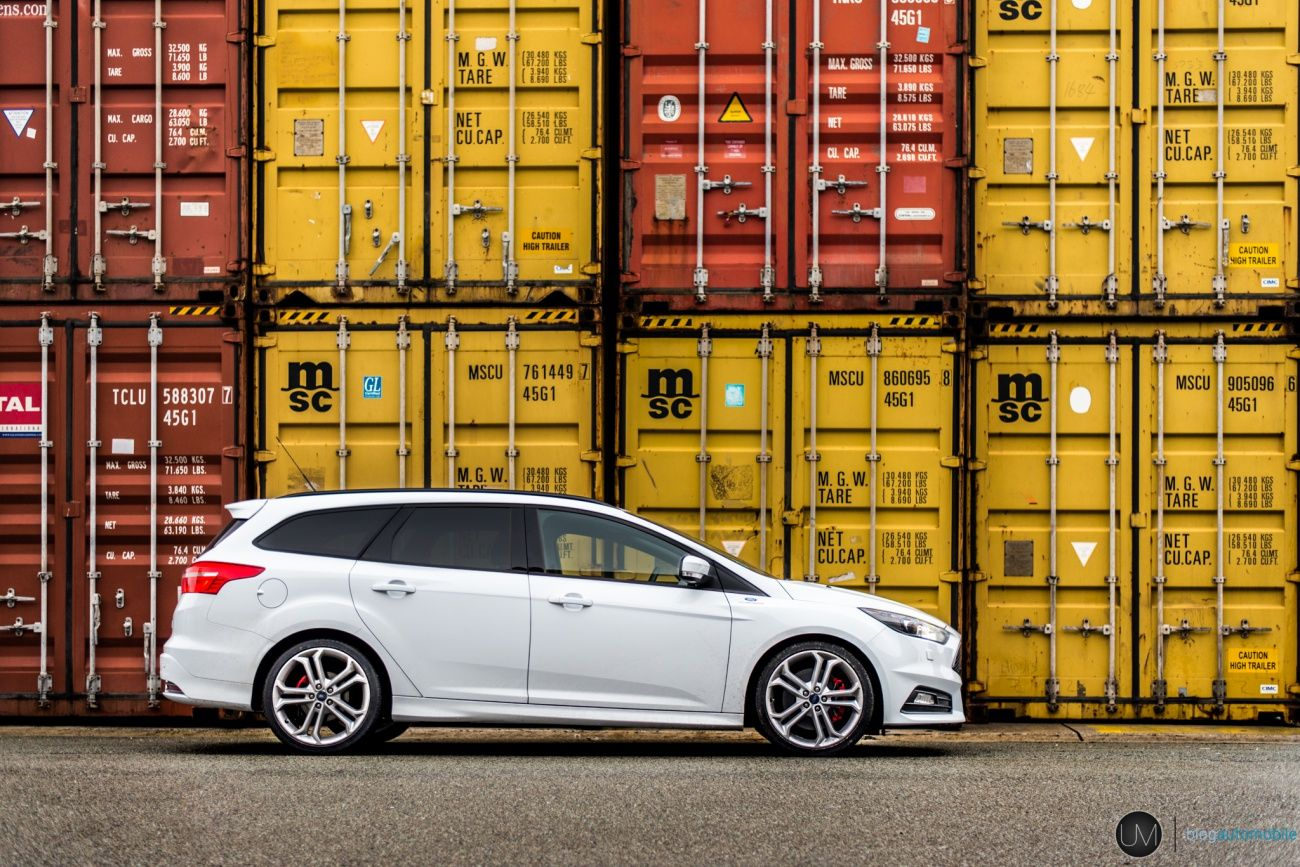 Test Ford Focus St Sw Tdci The Break In Overset New Car