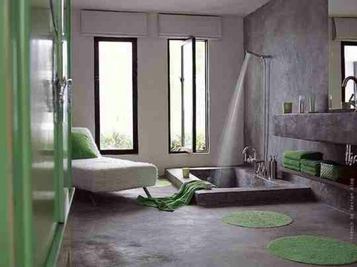 15 Really Awesome Bathrooms With Sunken Bathtub That Will