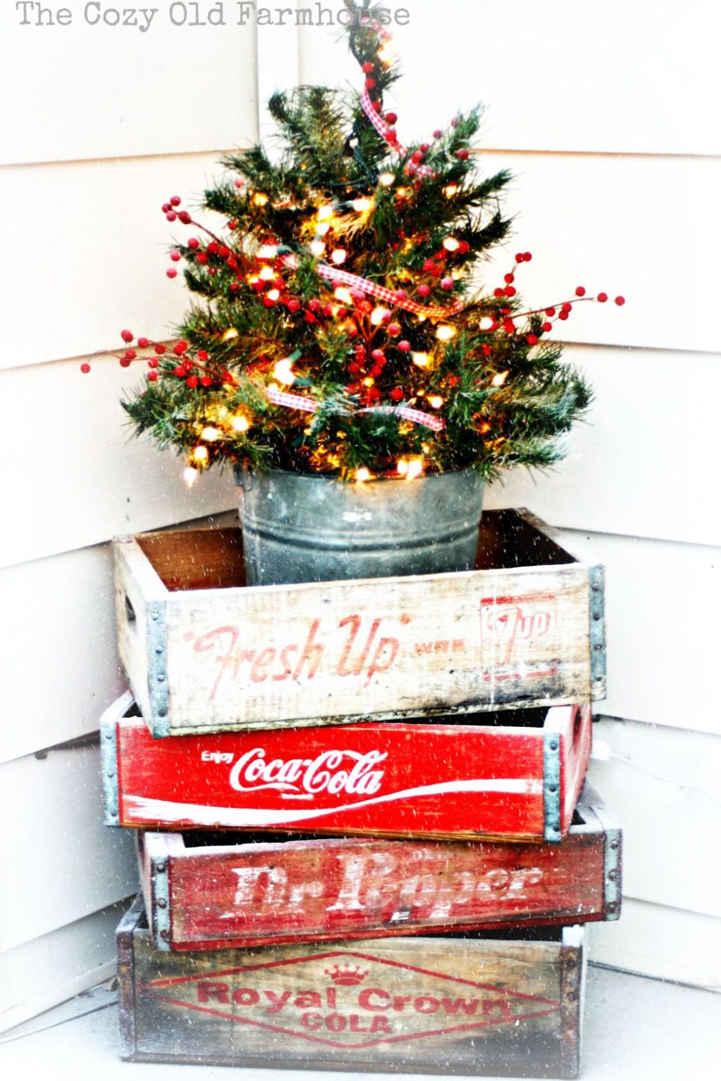 Let the holiday cheer spill out of your home holiday ideas