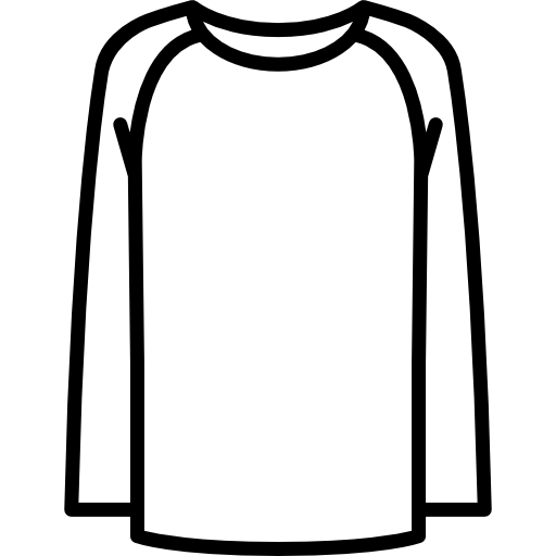 Long Sleeves T Shirt Free Vector Icons Designed By Freepik Free Icons Vector Icon Design 30 Day Art Challenge