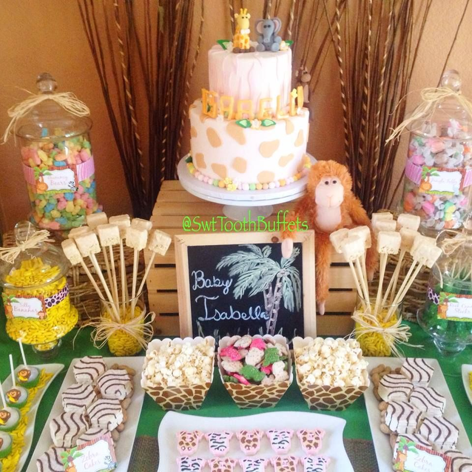 Candy For Baby Shower Ideas: Candy And Desserts Table, Cake Pops