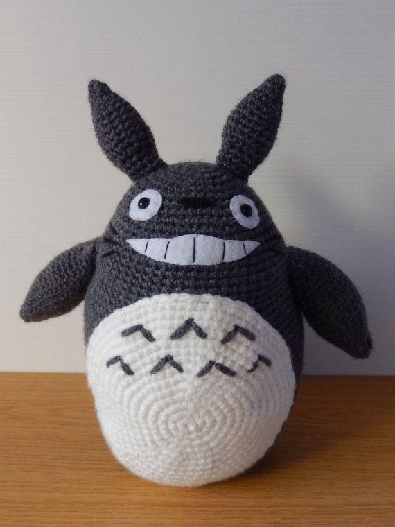 Totoro grande, Totoro crochet, peluche totoro, muñeco Totoro ...