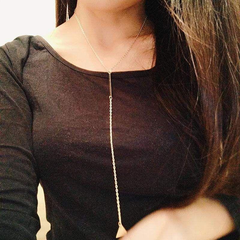 Photo of Marquis Golden Quaste Halskette