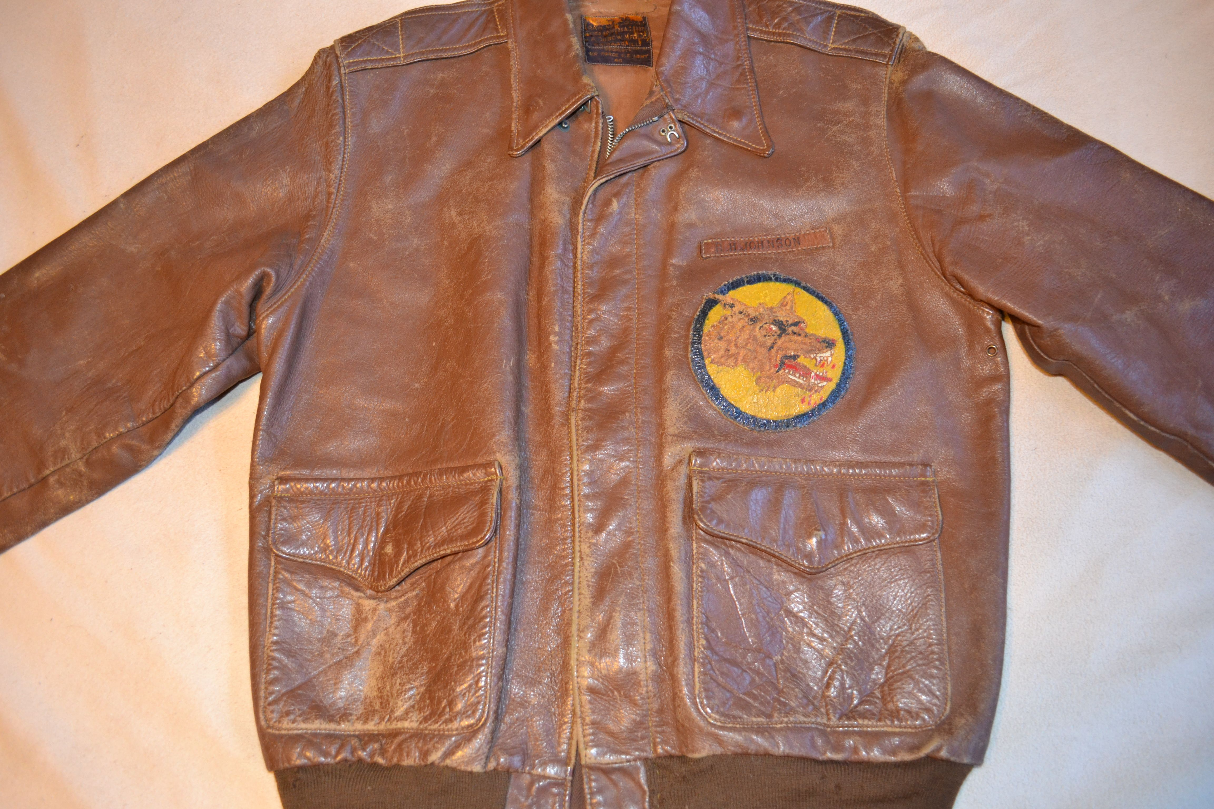 J.A Dubow 23379 (49th Bombardment Squadron) Leather