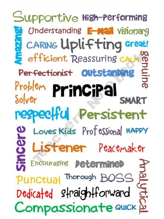 So Thankful That Our Kids Have An Awesome Principal At Their