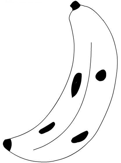 Frutas Frutas Para Colorir Riscos Para Patchwork E Banana Desenho