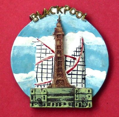 Souvenir #fridge magnet #blackpool #lancashire england,  View more on the LINK: 	http://www.zeppy.io/product/gb/2/381517272271/