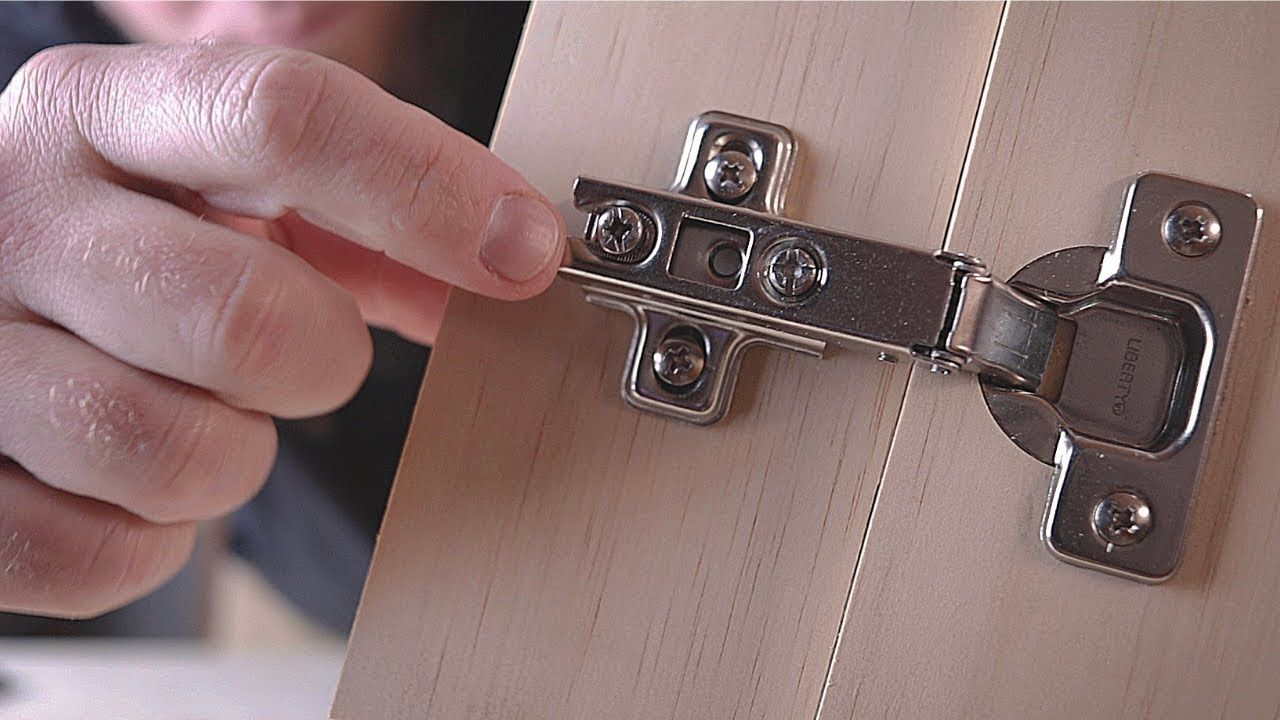 How to Choose Concealed Cabinet Hinges / Making A Better ...