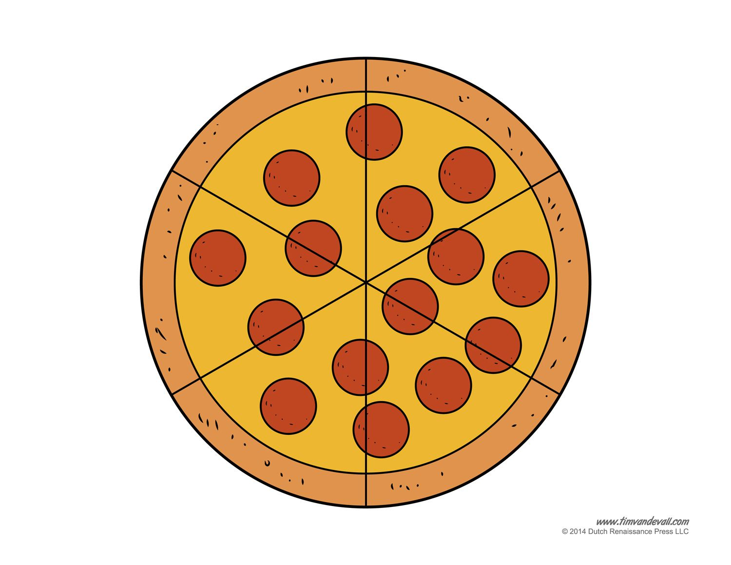 Blank Pizza Template