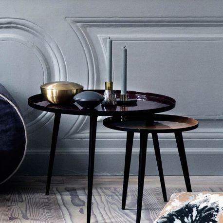 Découvrez la table basse Tripod Jelva de Broste Copenhagen en métal ...