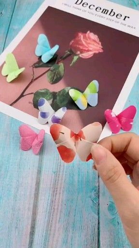Photo of Folded butterflies – home decor