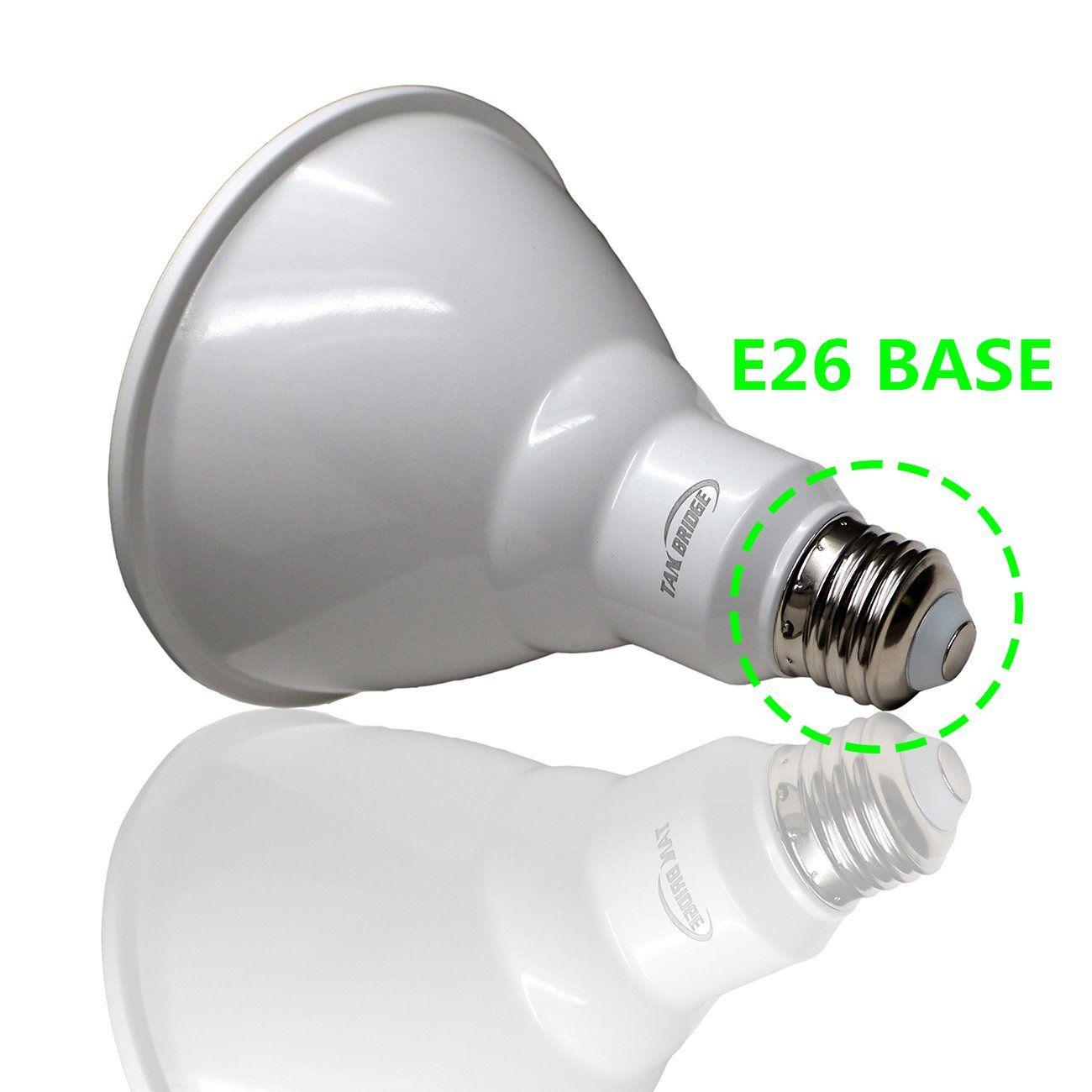 6 Pack Led Par38 Light Bulbs E26 Medium Screw Flood Light 5000k Crystal White Glow 120 Watt Equivalent18w Ac 120v 60hz Ul Listed In 2020 Flood Lights Light Bulbs Bulb