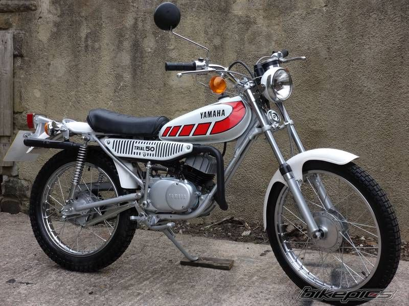 1977 yamaha ty 50 yamaha toys 50cc moped enduro. Black Bedroom Furniture Sets. Home Design Ideas