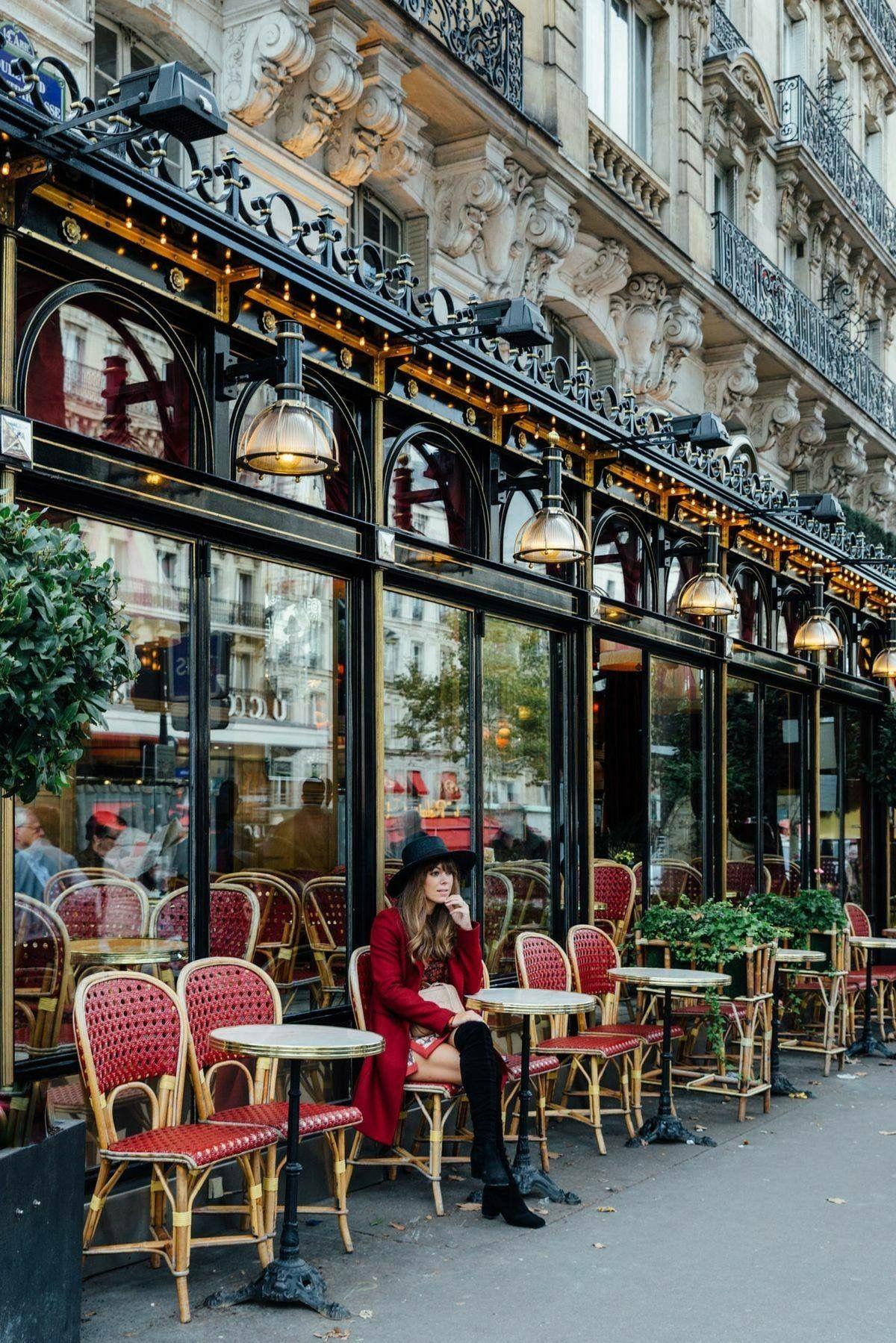 Terrasse A Paris Bistrots In 2019 Pinterest Paris Paris Cafe