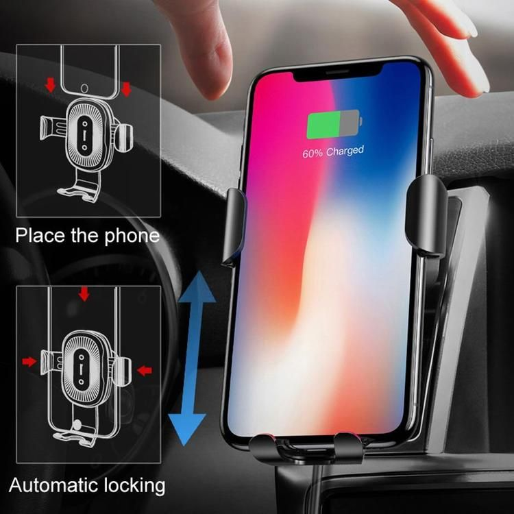 Automatic Wireless Car Charger   Wireless charger, Charging