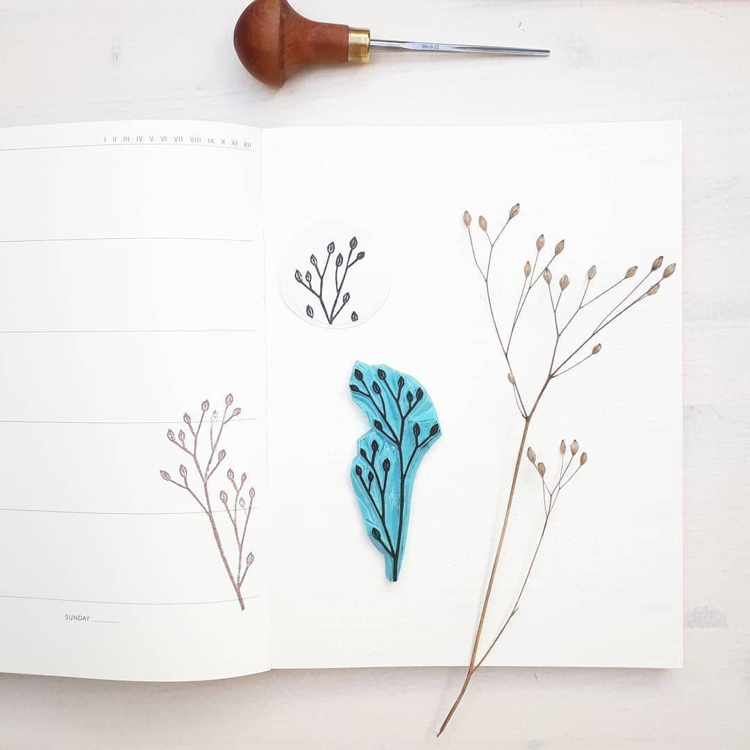 Yoojin Paperpilea Auf Instagram Stempel Stempel Selber Machen Stempel Schnitzen Stempel Diy Stamp Car Stempel Selber Machen Journaling Ideen Linoldruck