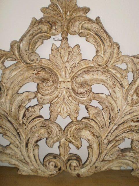 Carved Headboard from www.casachicob.com