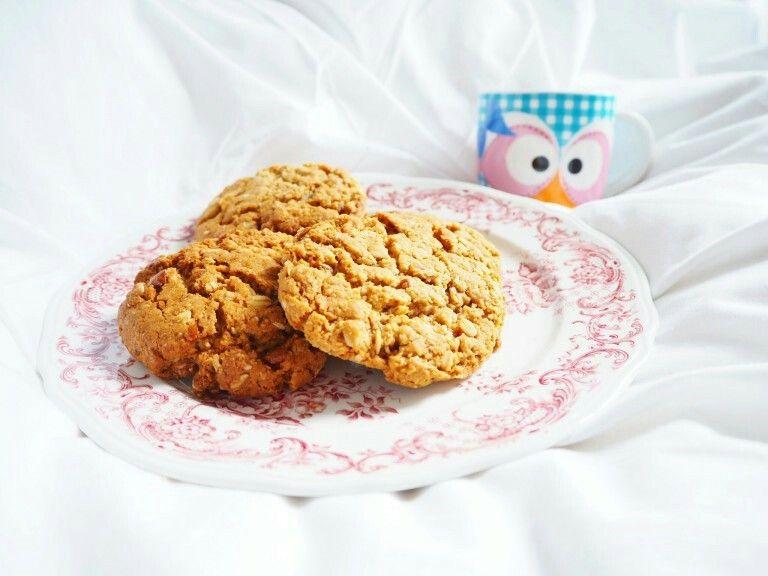 Havermout-cashewcookies van fitgirlcode.com
