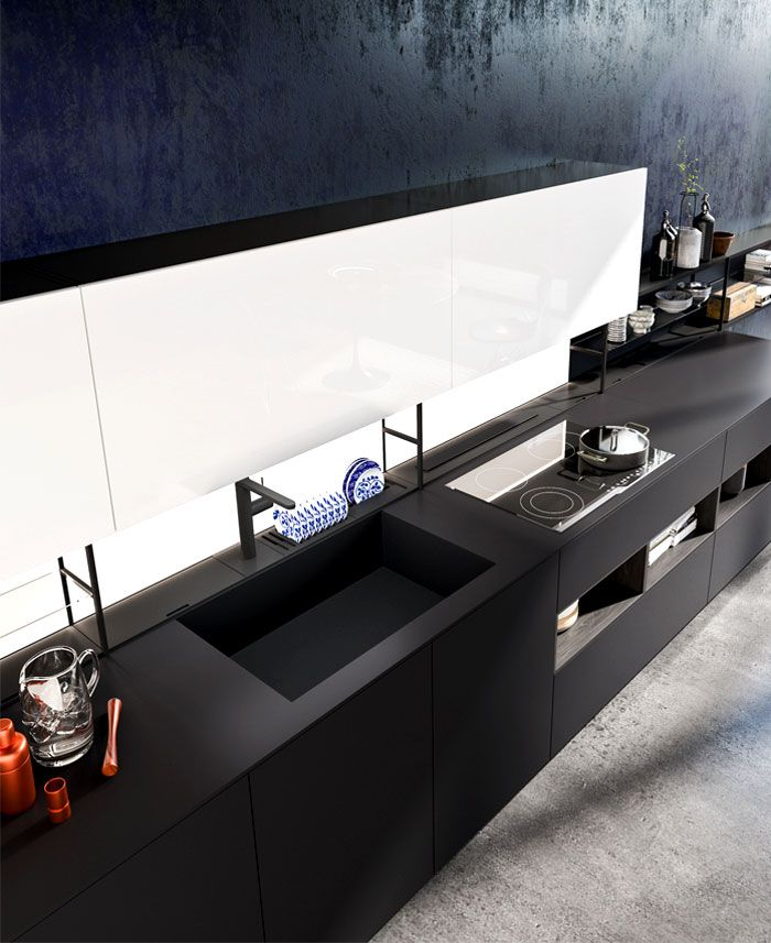 Modern Industrial Style Combines Aesthetics With: Comprex Kitchens Combine Sophisticated Aesthetics With Hi